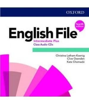 Диски English File 4th Edition Intermediate Plus Class Audio CDs (5)