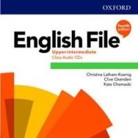 Диски English File 4th Edition Upper-Intermediate Class Audio CDs (5)