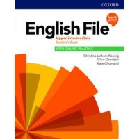 Підручник English File 4th EditionUpper-Intermediate Student's Book with Online Practice