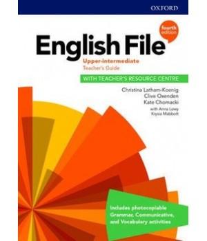 Книга для вчителя English File 4th Edition Upper-Intermediate Teacher's Guide with Teacher's Resource Centre