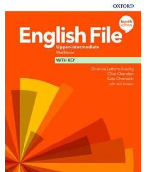 Робочий зошит English File 4th Edition Upper-Intermediate Workbook with key