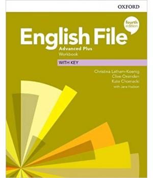 Робочий зошит English File 4th Edition Advanced Plus Workbook with key