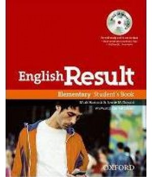 Підручник English Result Elementary Student's Book With DVD Pack