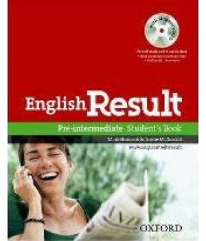 Учебник English Result Pre-Intermediate Student's Book With DVD Pack