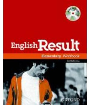 Робочий зошит English Result Elementary Workbook with Answer Booklet and MultiROM Pack