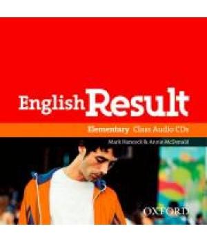 Диски English Result Elementary Class Audio CDs (2)