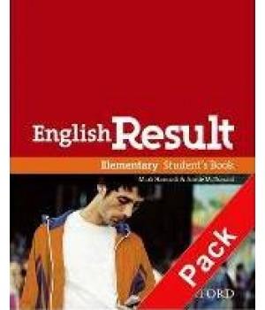 Книга для вчителя English Result Elementary Teacher's Book with DVD Pack