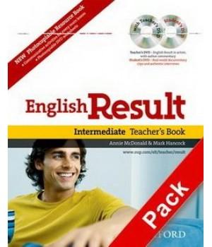 Книга для вчителя English Result Intermediate Teacher's Book with DVD Pack