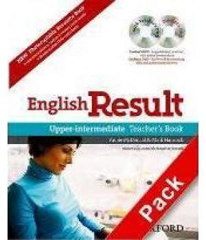 Книга для вчителя English Result Upper-Intermediate Teacher's Book with DVD Pack