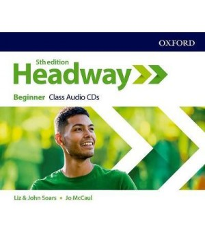 Диски New Headway (5th Edition) Beginner Class Audio CDs (3)