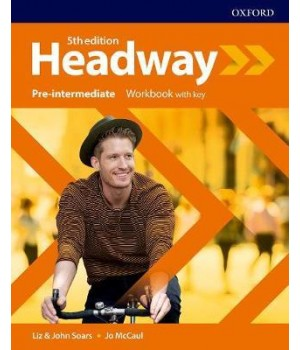 Робочий зошит New Headway (5th Edition) Pre-Intermediate Workbook with Key