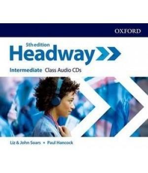 Диски New Headway (5th Edition) Intermediate Class Audio CDs (3)