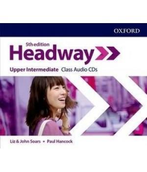 Диски New Headway (5th Edition) Upper Intermediate Class Audio CDs (3)