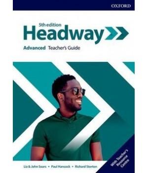 Книга для вчителя New Headway (5th Edition) Advanced Teacher's Guide with Teacher's Resource Center