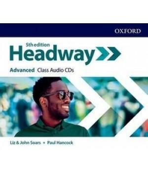 Диски New Headway (5th Edition) Advanced Class Audio CDs (3)