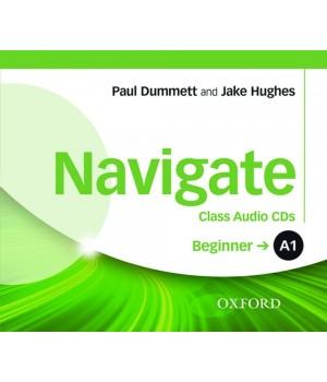Диски Navigate Beginner (A1) Class Audio CDs (3)