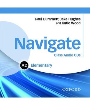 Диски Navigate Elementary (A2) Class Audio CDs (3)