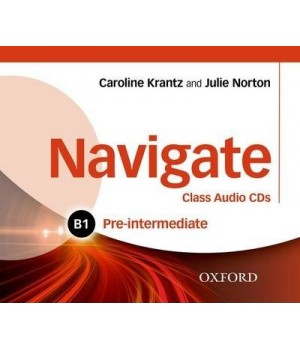 Диски Navigate Pre-Intermediate (B1) Class Audio CDs (3)
