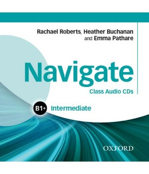 Диски Navigate Intermediate (B1+) Class Audio CDs (3)
