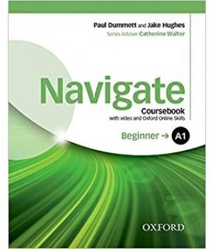 Учебник Navigate Beginner (A1) Coursebook with DVD and online skills