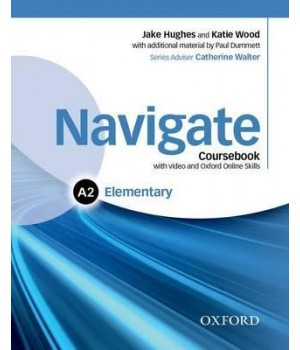 Підручник Navigate Elementary (A2) Coursebook with DVD and online skills