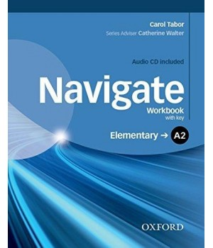 Робочий зошит Navigate Elementary (A2) Workbook with Key with Audio CD