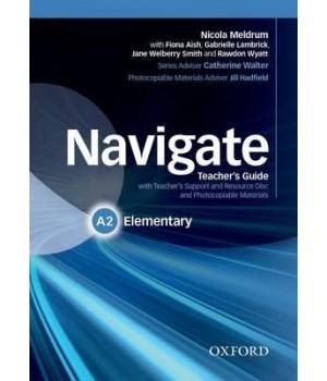 Книга для вчителя Navigate Elementary (A2) Teacher's Book with Teacher's Resource Disc
