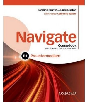 Учебник Navigate Pre-Intermediate (B1) Coursebook with DVD and online skills