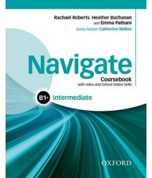 Підручник Navigate Intermediate (B1+) Coursebook with DVD and online skills
