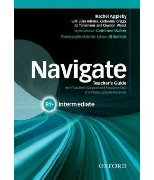 Книга для вчителя Navigate Intermediate (B1+) Teacher's Book with Teacher's Resource Disc