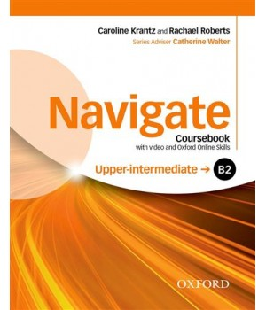 Підручник Navigate Upper-Intermediate (B2) Coursebook with DVD and online skills