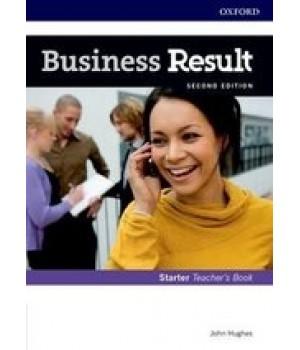 Книга для вчителя Business Result Second Edition Starter Teacher's Book with DVD