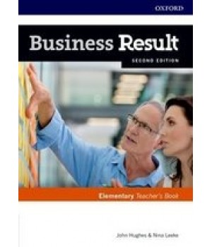 Книга для вчителя Business Result Second Edition Elementary Teacher's Book with DVD