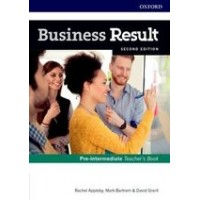 Книга для учителя Business Result Second Edition Pre-Intermediate Teacher's Book with DVD