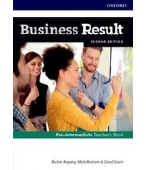 Книга для вчителя Business Result Second Edition Pre-Intermediate Teacher's Book with DVD