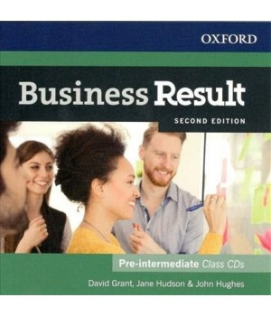 Диск Business Result Second Edition Pre-Intermediate Class Audio CD