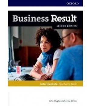 Книга для вчителя Business Result Second Edition Intermediate Teacher's Book with DVD