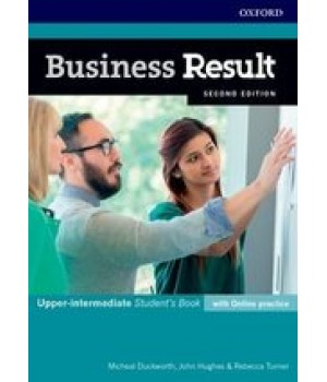 Учебник Business Result Second Edition Upper-Intermediate Student's Book with Online Practice