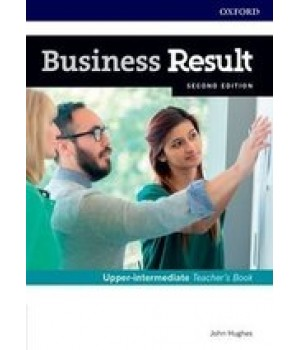 Книга для вчителя Business Result Second Edition Upper-Intermediate Teacher's Book with DVD