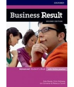 Учебник Business Result Second Edition Advanced Student's Book with Online Practice