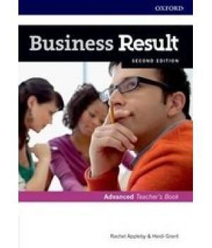 Книга для вчителя Business Result Second Edition Advanced Teacher's Book with DVD