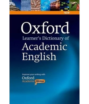 Словник Oxford Learner's Dictionary of Academic English With Oxford Academic iWriter on CD-ROM.