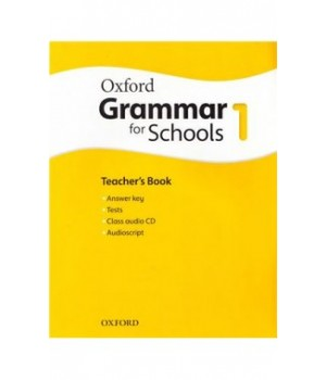 Книга для вчителя Oxford Grammar for Schools 1 Teacher's Book and Audio CD Pack