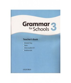 Книга для вчителя Oxford Grammar for Schools 3 Teacher's Book and Audio CD Pack