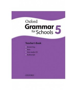 Книга для вчителя Oxford Grammar for Schools 5 Teacher's Book and Audio CD Pack