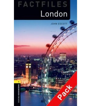 Книга для читання Oxford Bookworms Library Level 1 London Factfile Audio CD Pack