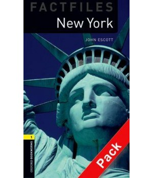 Книга для читання Oxford Bookworms Library Level 1 New York Factfile Audio CD Pack