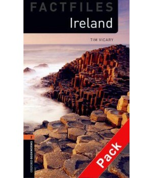 Книга для чтения Oxford Bookworms Library Level 2 Ireland Factfile Audio CD Pack