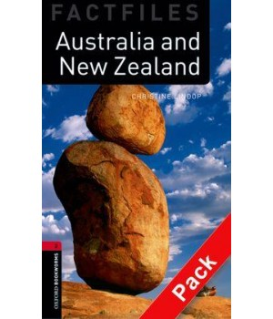 Книга для читання Oxford Bookworms Library Level 3 Australia and New Zealand Factfile Audio CD Pack