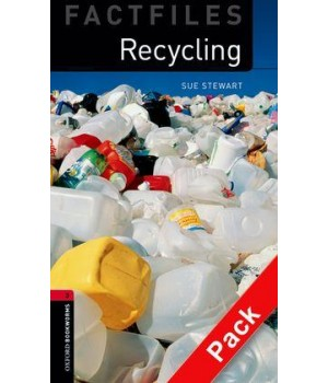 Книга для читання Oxford Bookworms Library Level 3 Recycling Factfile Audio CD Pack